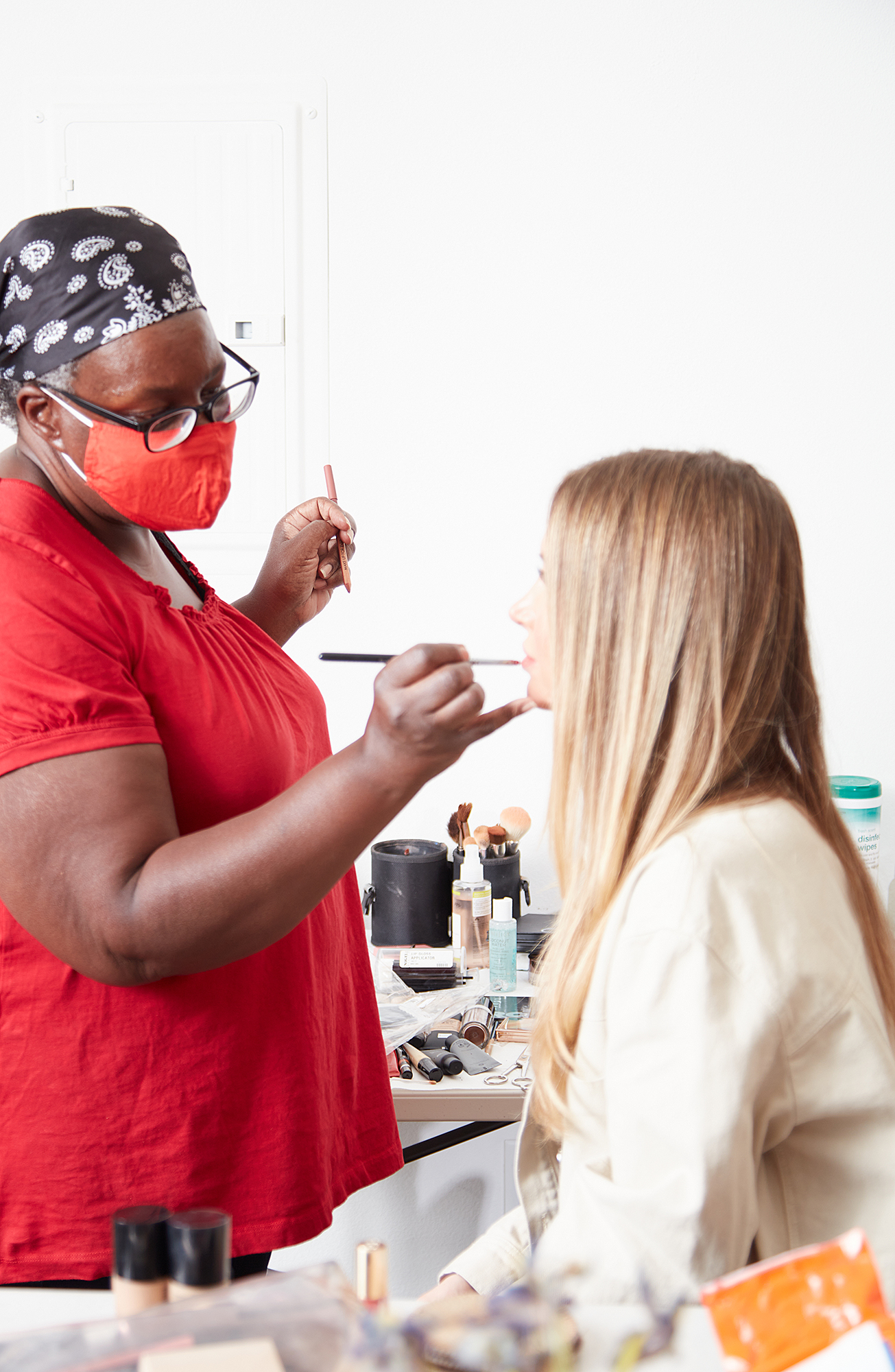 makeup to go blog tania d Russell makeup educator Los Angeles San Francisco behind the scenes